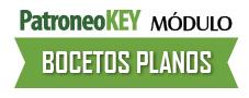 Software Módulo Bocetos Planos de Patroneo KEY