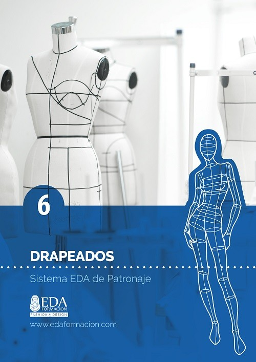Libro Digital PDF Sistema EDA Patronaje Señora 6: Drapeados
