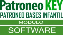 Software Módulo Patroneo Bases Infantil de Patroneo KEY