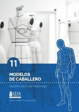 Libro Digital PDF Sistema EDA Patronaje Caballero 11: Modelos