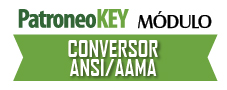 Software Módulo Conversor de patrones Investrónica / Gerber / Lectra de Patroneo KEY