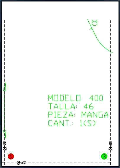 Software Módulo PDF de patrones en A4 de Patroneo KEY
