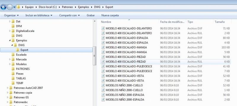 Software Módulo Conversor de patrones Investrónica / Gerber / Lectra