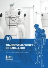 Libro Digital PDF Sistema EDA Patronaje Caballero 10: Transformaciones